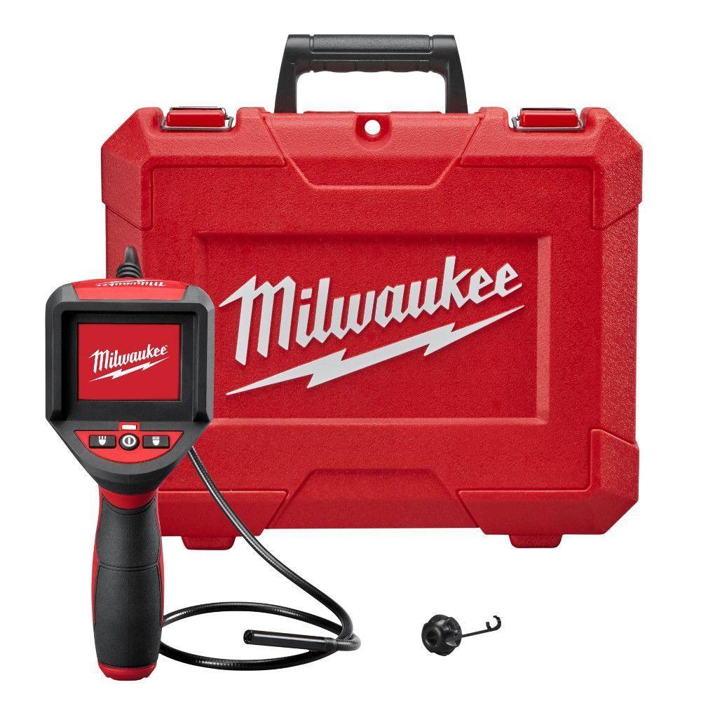Milwaukee M Spector 3 Ft Inspection Camera Scope Kit 2309 20 Plumbing Tools Milwaukee Home Depot