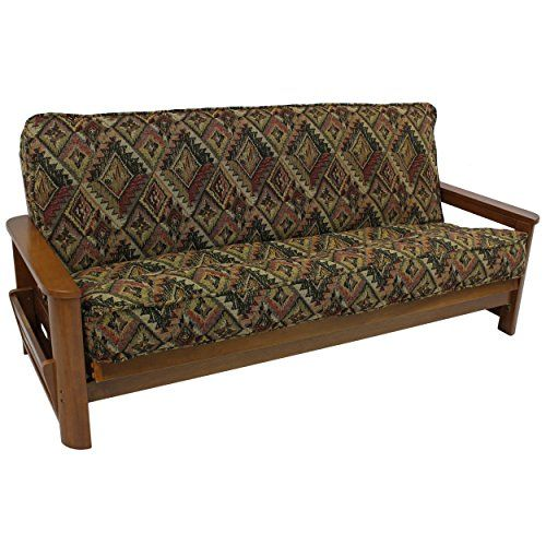 Blazing Needles Patterned Tapestry Double Corded 8 To 9 Futon Cover Full Timberland You Can Find Out More Details At The Link Of Image
