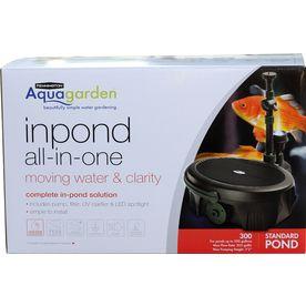 Pennington aquagarden 203 gph submersible pond pump for Aquagarden 1200 pond pump