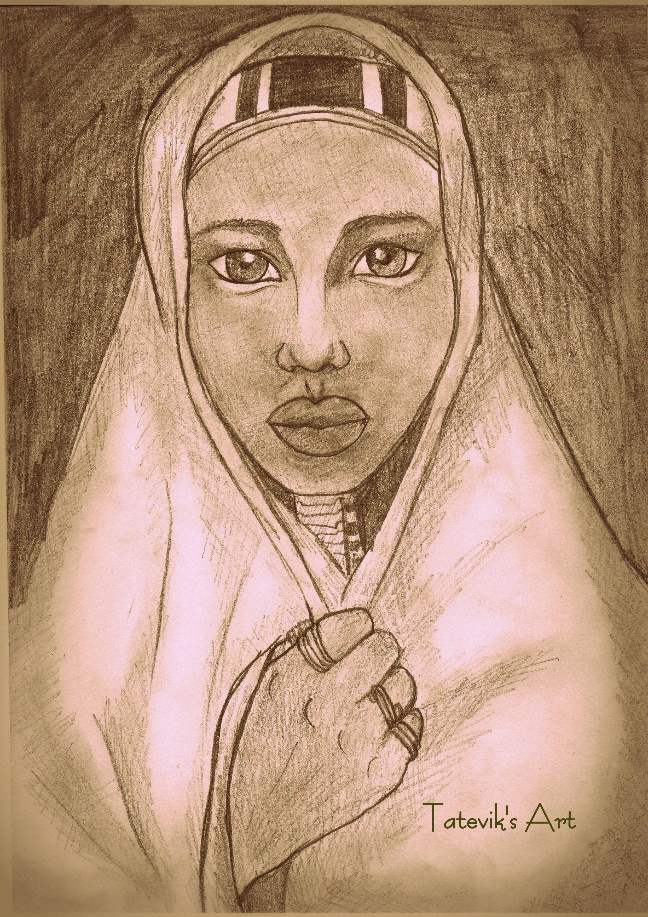 African girl africangirl blackskin pencil pencildrawing drawing art
