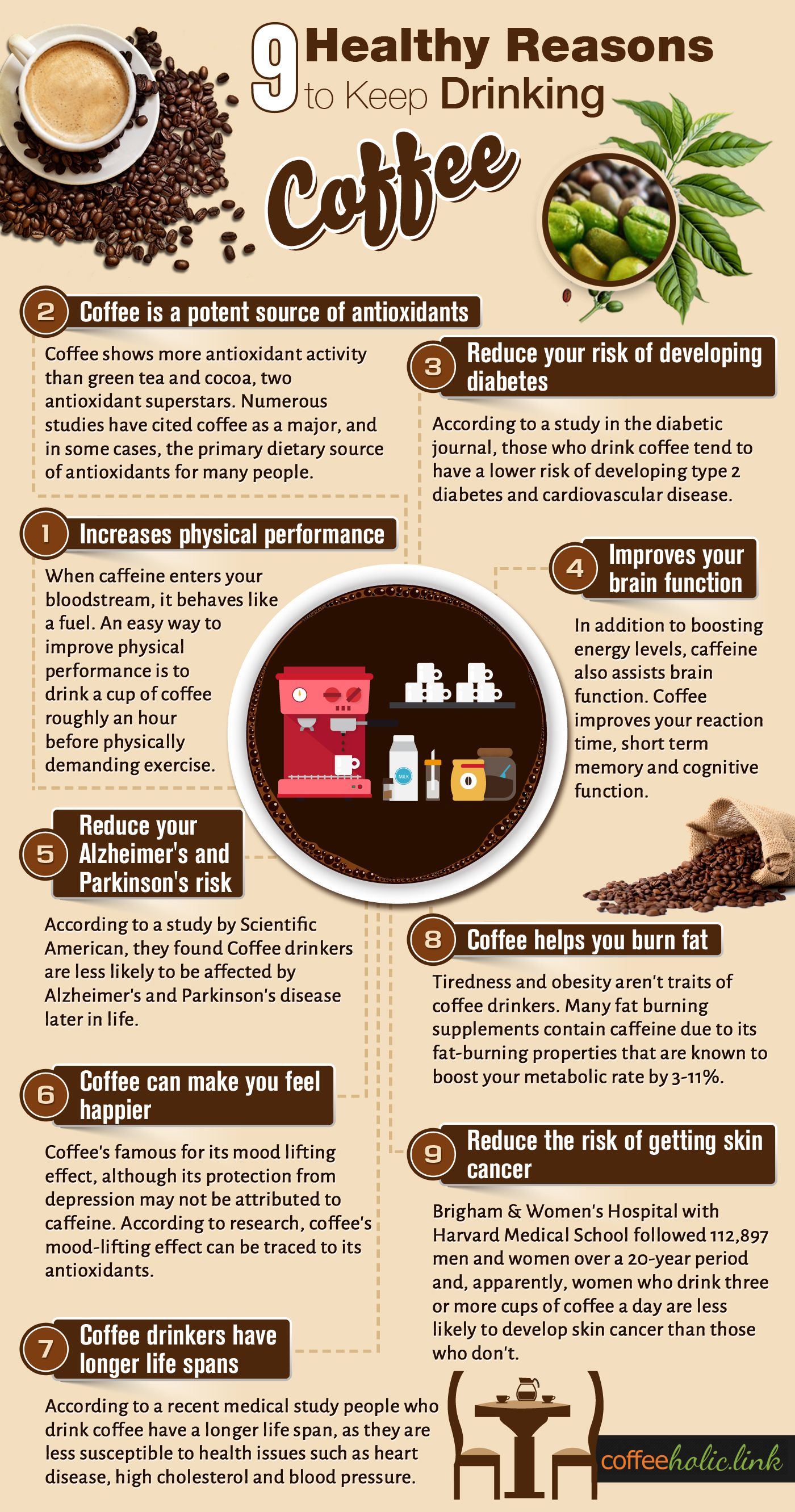 9 reasons to drink more coffee