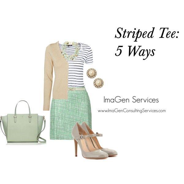 Striped Tee: 5 Ways