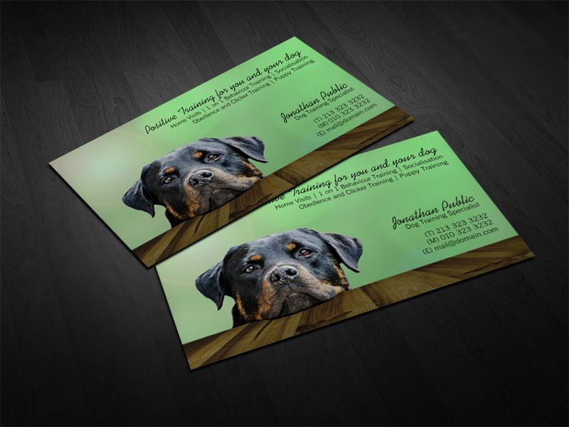 Dog Trainer Business Card | Pinterest | Business cards and Business