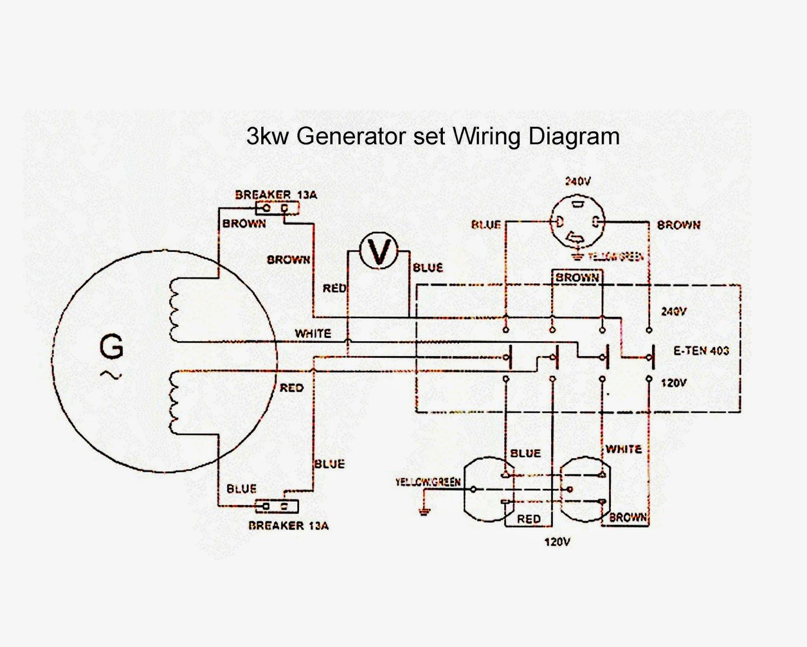 Wiring Diagram For 220 Volt Generator Plug Bookingritzcarlton Info Circuit Diagram Diagram Electrical Circuit Diagram