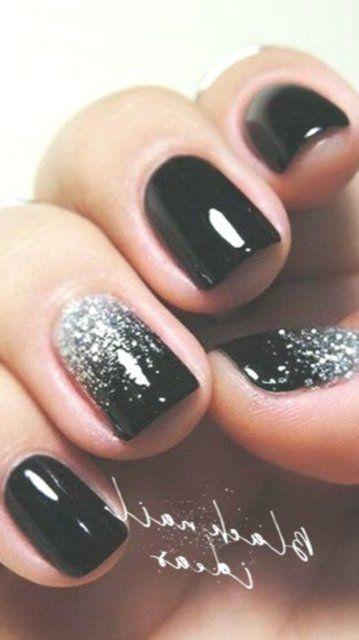 25+ ›Eenvoudige middelgrote acryl ombre nagels met