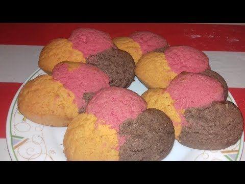 Facilisimo Polvoron De 3 Colores Casero Youtube Panaderia Y Reposteria Colores Caseros Barra De Mantequilla