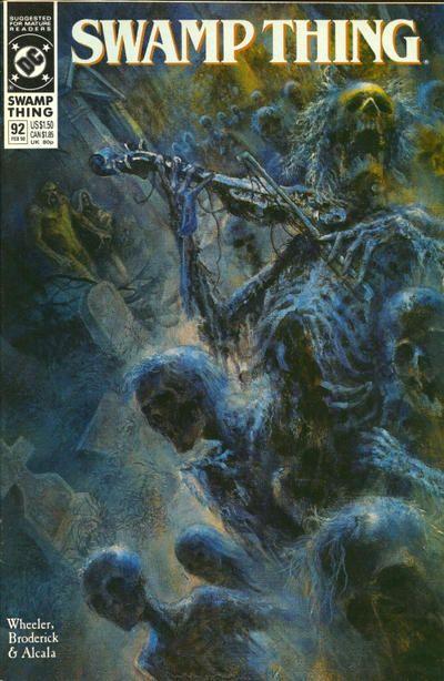 Swamp Thing 92 - John Totleben | Whatever | Comic books ...