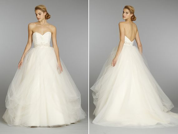 Shruthi In A Dreamy One Shoulder Pronovias Dress: Petite… Most Styles Work, However It's Best To Look For