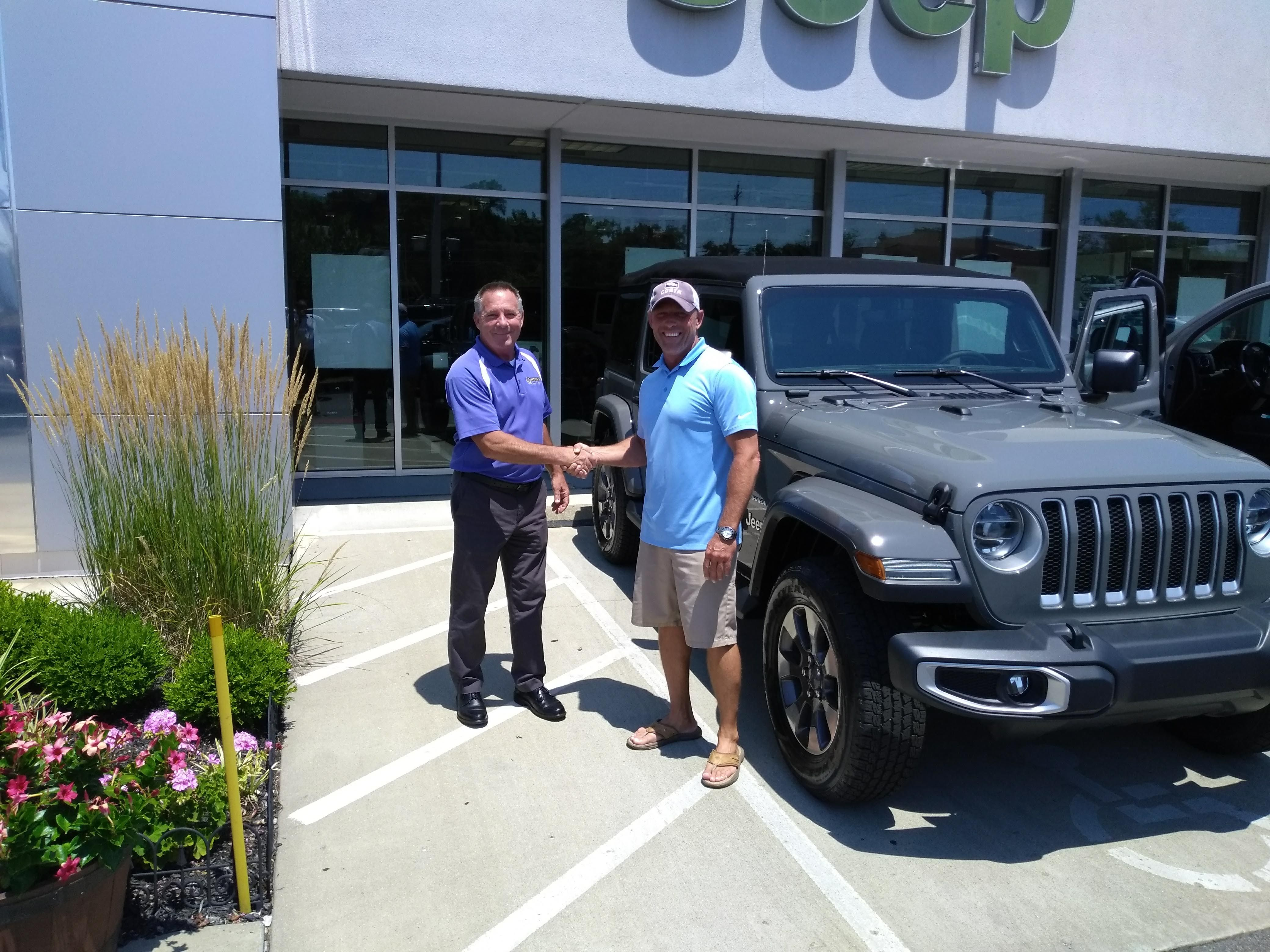Congratulations to Floyd Marshall on his new 2018 Jeep