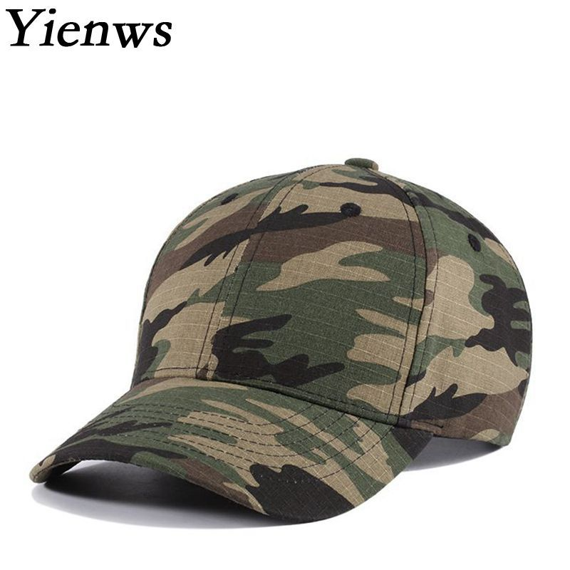 3beb3866097 Yienws Print Tactical Mens Baseball Camouflage Cap With Fan Wholesale Plain Baseball  Hat Curved Brim Cap