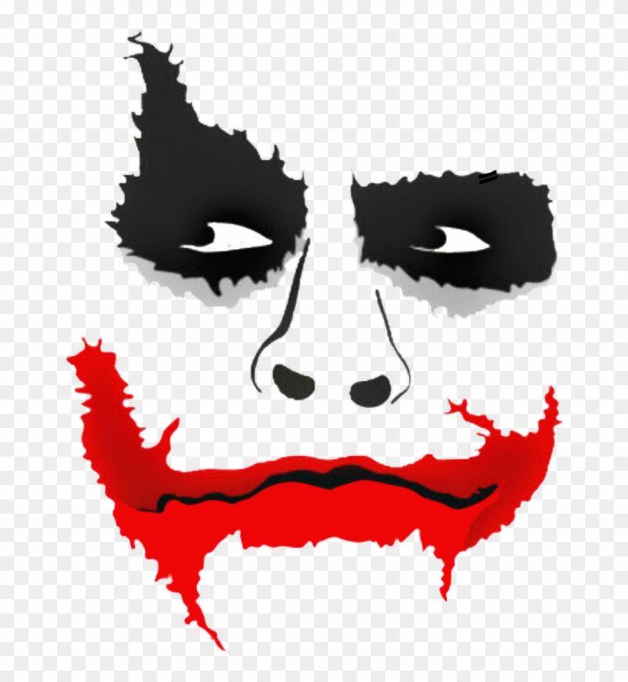 Joker Clipart Lips Picsart Joker Face Png Transparent Png 742702 Is A Creative Clipart Download The Transparent C Joker Face Joker Drawings Joker Stencil