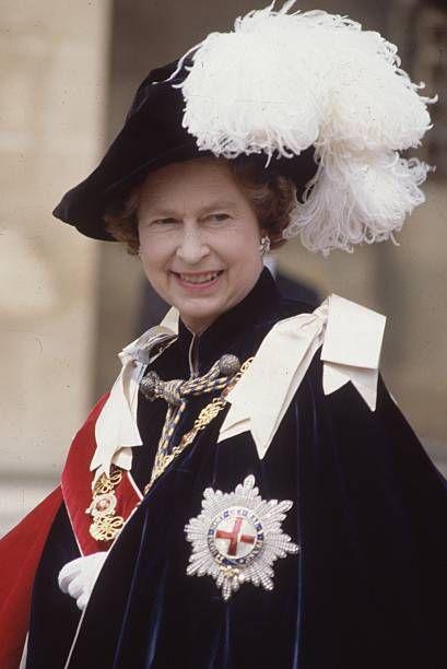Queen Elizabeth II of Great Britain at Windsor for the