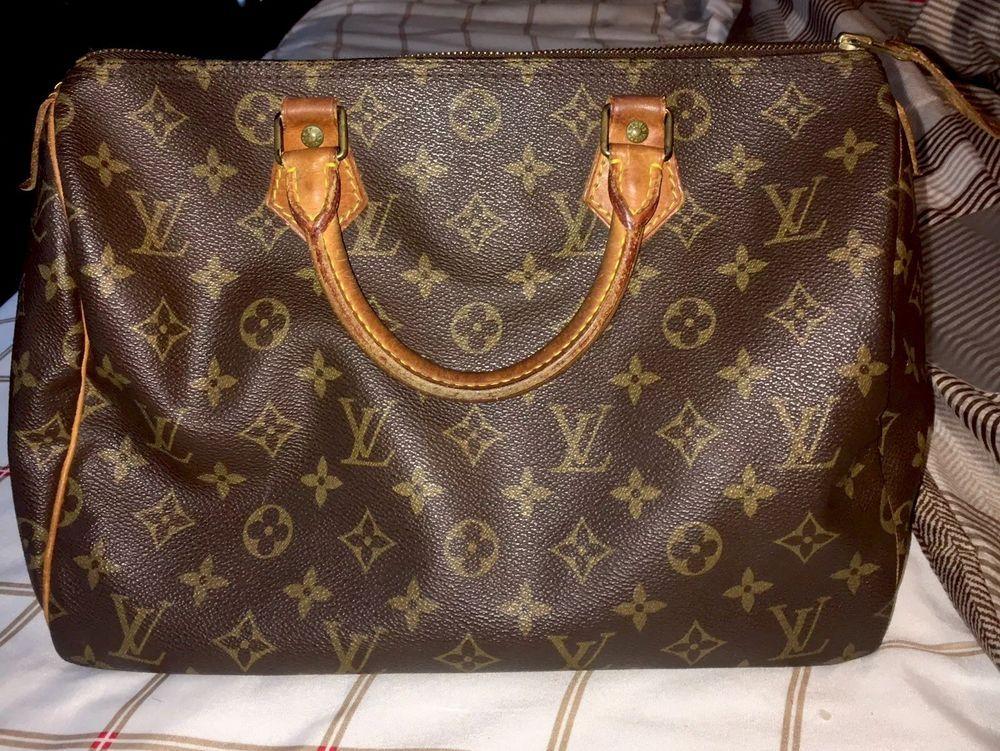 Authentic Louis Vuitton Handbag Sdy