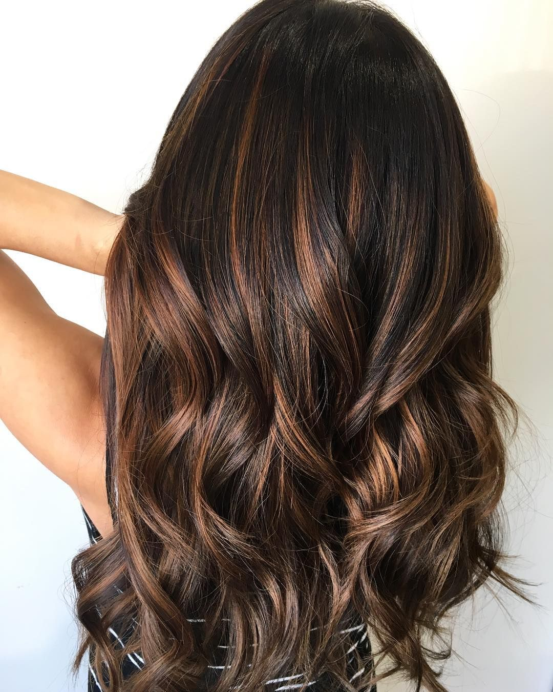balayage dark brown hair color ideas for changing up your style