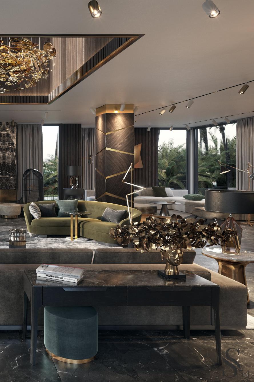 Design D Interno Per La Tua Villa Elegante Lusso Casedilusso