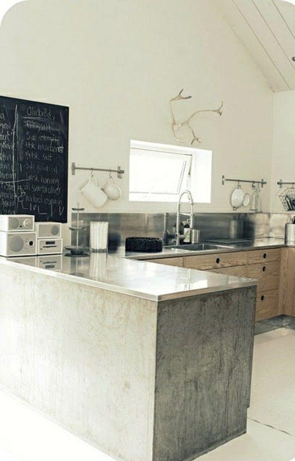 maße massiv Küchen mit Kochinsel kochinsel kitchen Pinterest - lösungen für kleine küchen