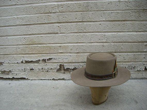 75cdcb1fa4843 Vintage Original Stetson REVENGER Cowboy Hat Size 7 by Simply2nds