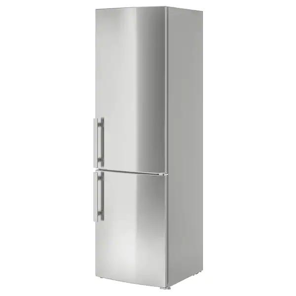 Frostkall Stainless Steel Fridge Freezer Ikea In 2020 Fridge Freezers Steel Fridge Ikea