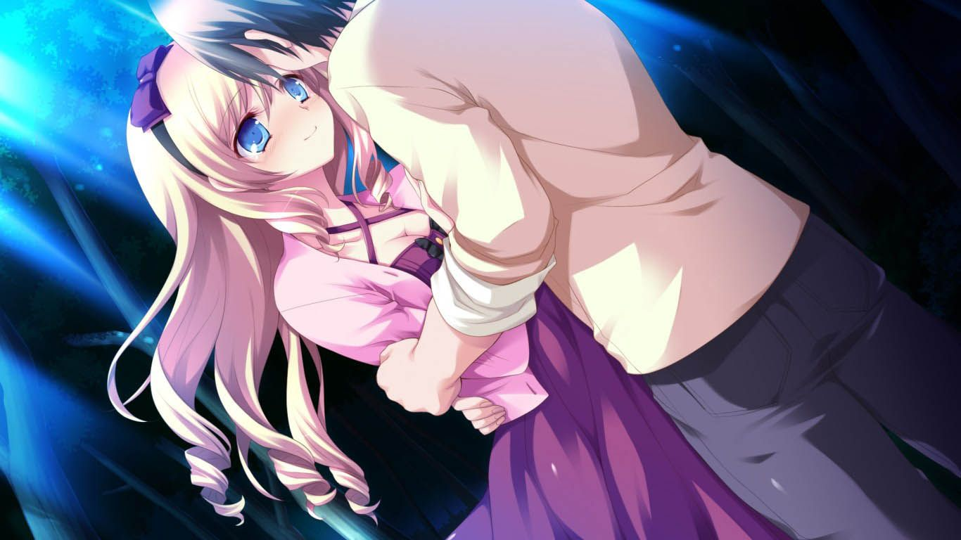 Anime Couple Hug Latest Hd Wallpapers Free Download Anime Girl