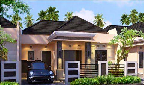 desain rumah mewah atap limas | rumah minimalis, rumah