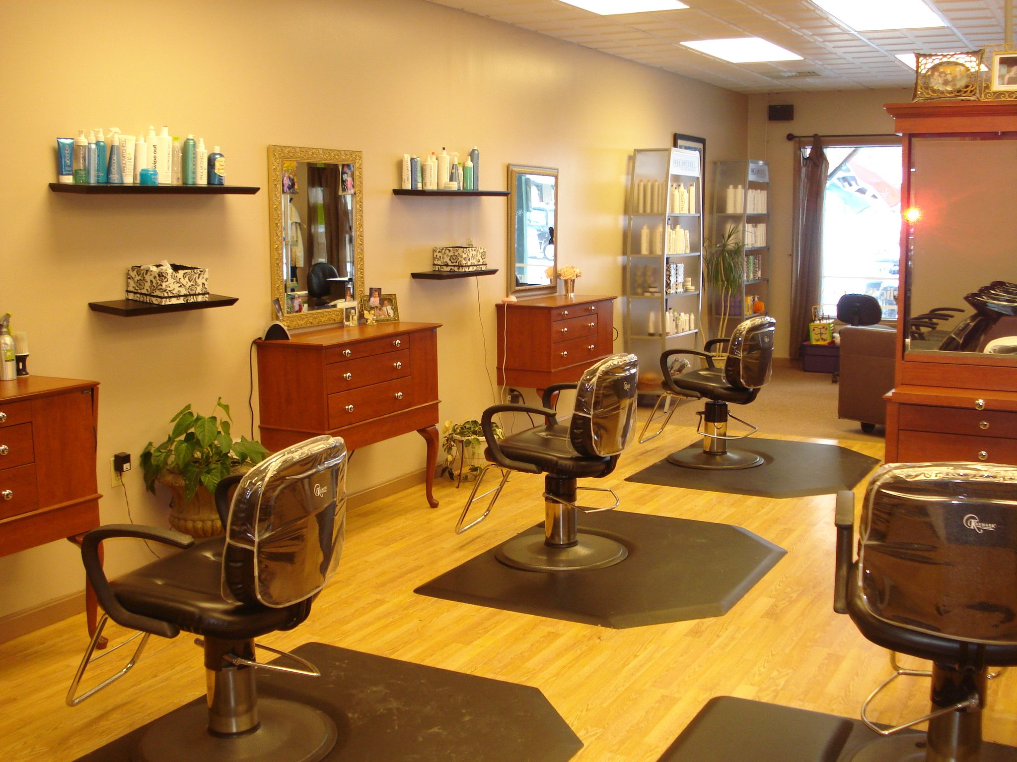 Modern hair salon decorating ideas karens dream salon pinterest