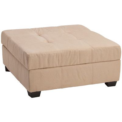Found it at Wayfair - Biltmore Tufted Padded Hinged Storage Ottoman