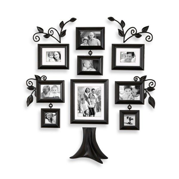 Wall Verbs 12 Piece Family Tree Collection Bed Bath Beyond Family Tree Photo Frame Family Tree Wall Art Family Tree Photo