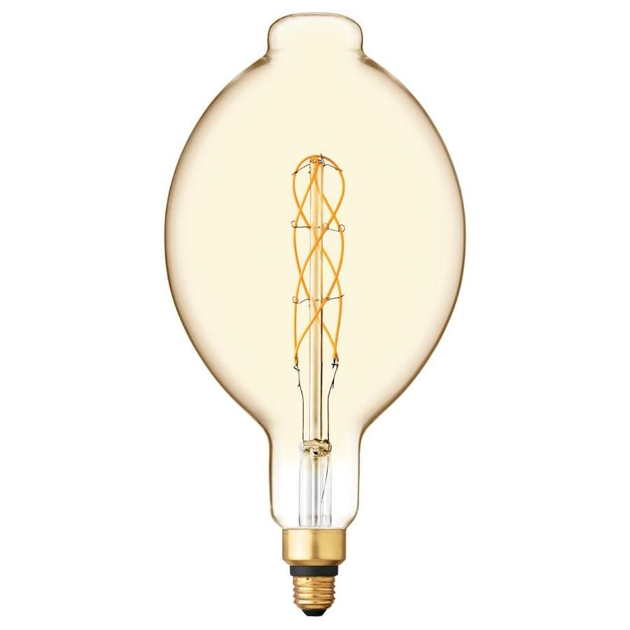 Ge Vintage 40 Watt Eq Bt56 Amber Dimmable Edison Bulb Light Bulb