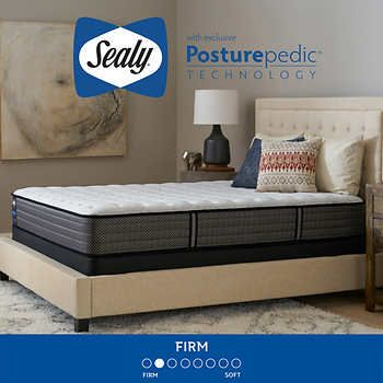 Sealy Response Performance Gray Cove Firm Full Mattress And