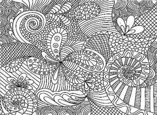 Adult Coloring Pages Patterns : Adult coloring pages pages pinterest