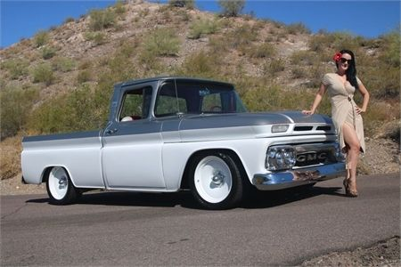 1963 Chevrolet C10 X2f K10 1963 Gmc Pick Up Fleet Side Capacete