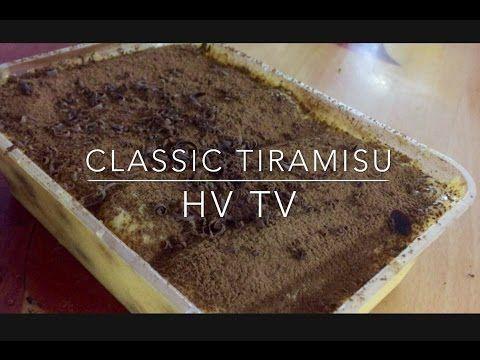 Classic Tiramisu Italian Dessert Recipe Italian Recipes Dessert Desserts Dessert Recipes