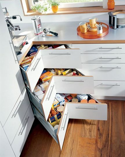 10 rangements bien pensés pour la cuisine | La cuisine, Rangement ...