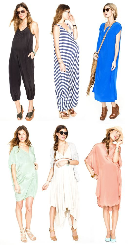 c3d73bf64a249 Ultra chic maternity clothes -- you'll love them even if you're not pregnant.    Hatch Collection