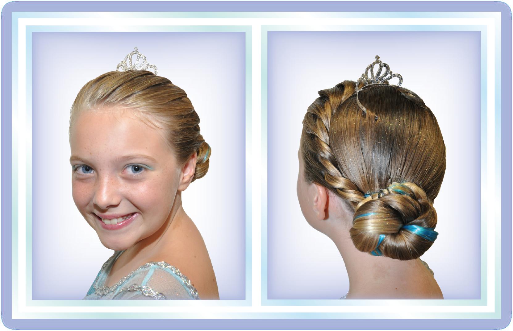 New Anna And Elsa Frozen Styles At Bibbidi Bobbidi Boutique Bibbidi Bobbidi Boutique Bibbidi Bobbidi Boutique Hairstyles Elsa Frozen