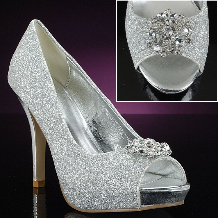 mylie silver by lava customizable decorated prom shoes