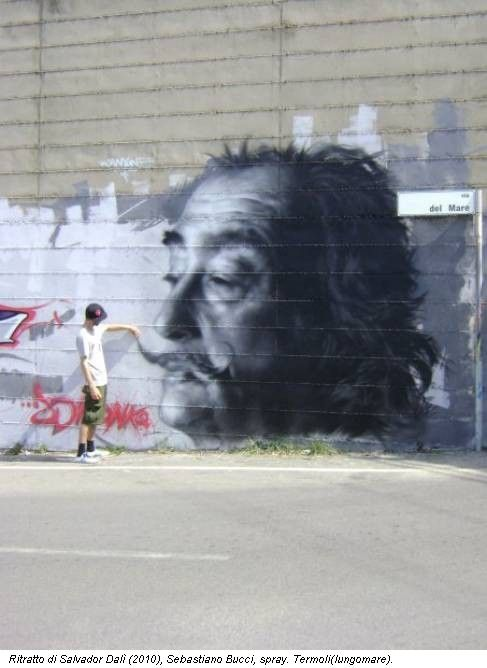 The writer and Dali