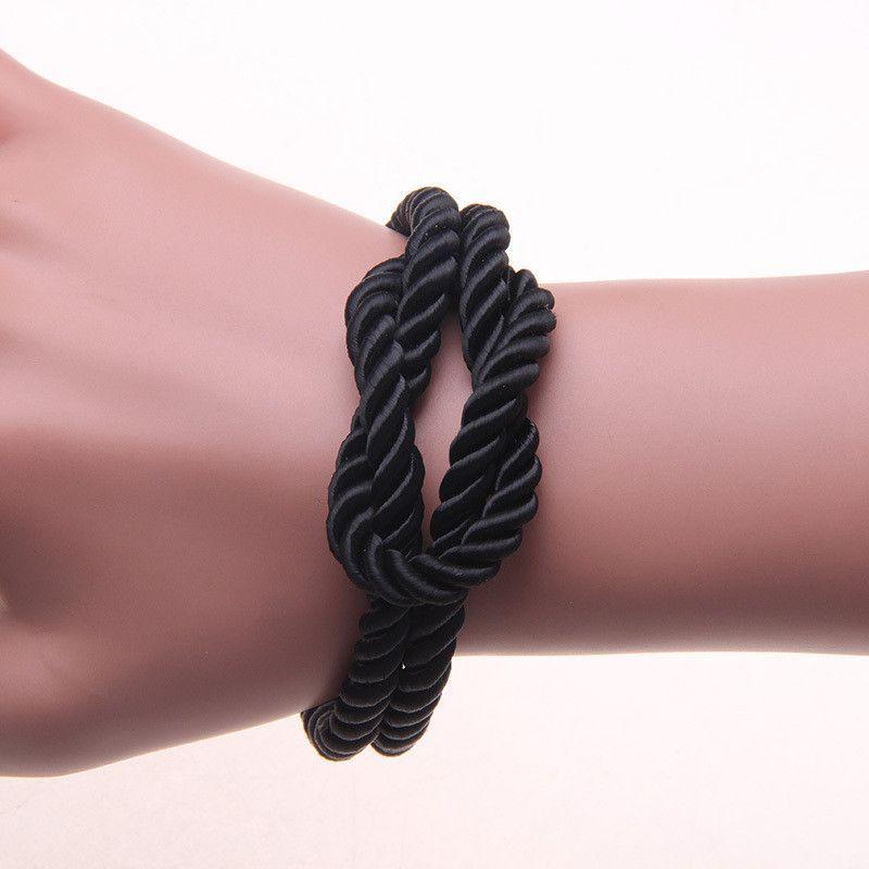 Infinit Knot Bracelet - Black