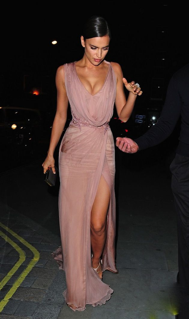 Favourite celebrity look of the week: Irina Shayk | Fashion ...