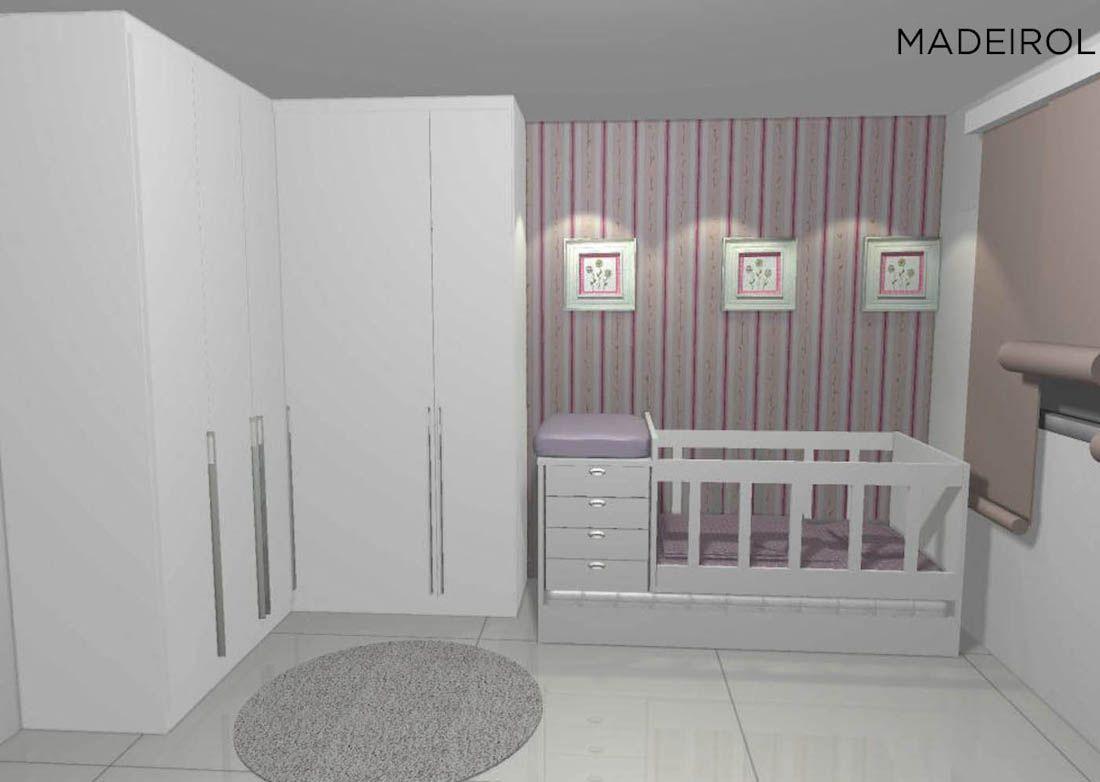Projetos de Armário de Bebê   Madeirol