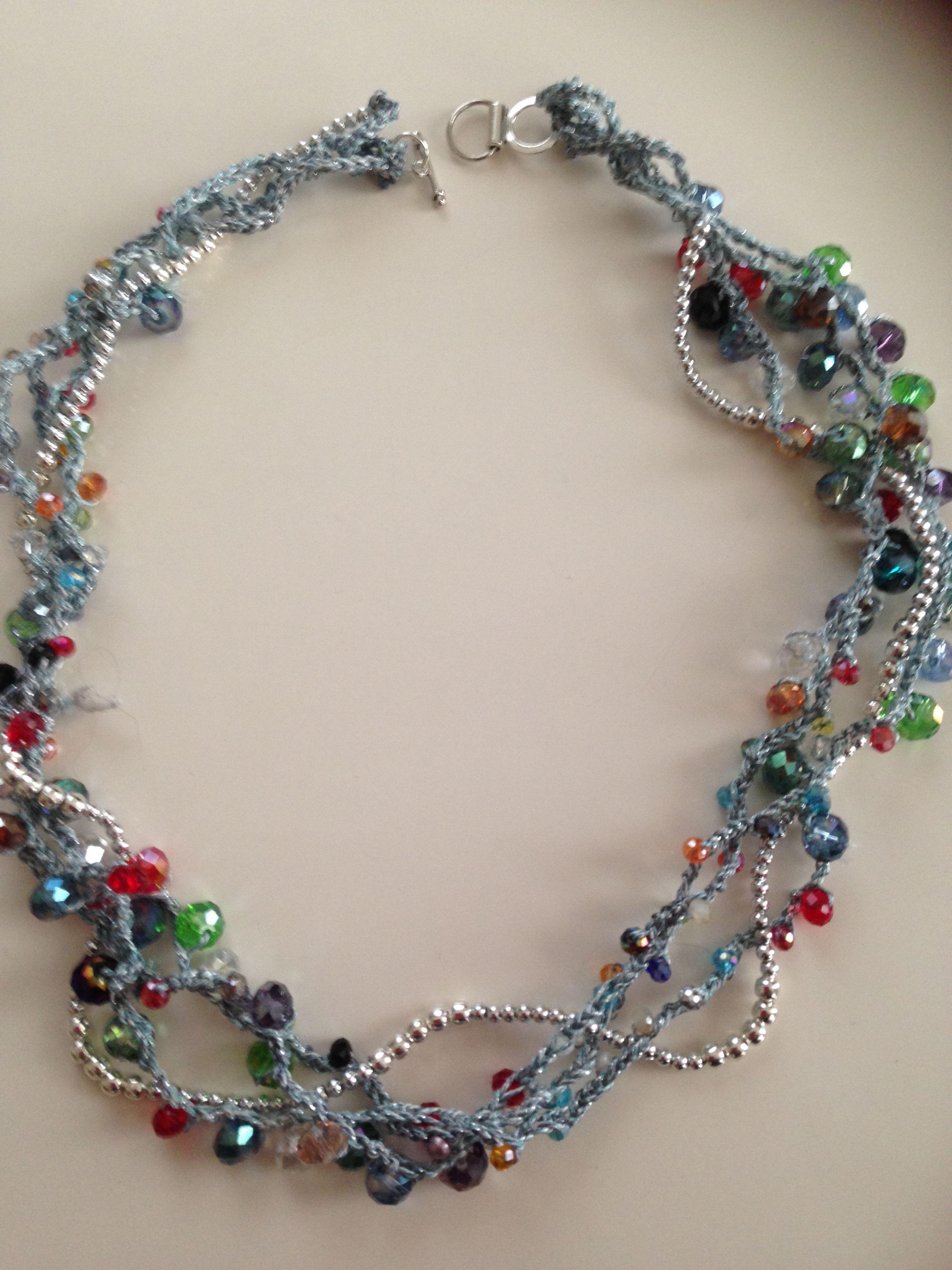Pin Von Analucia Auf Colar De Croche Pinterest Armbänder