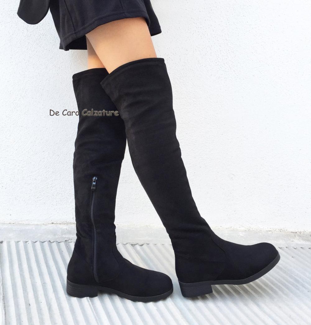 Stivali XL con tacco | Cuissarde talon, Bottes cuissardes