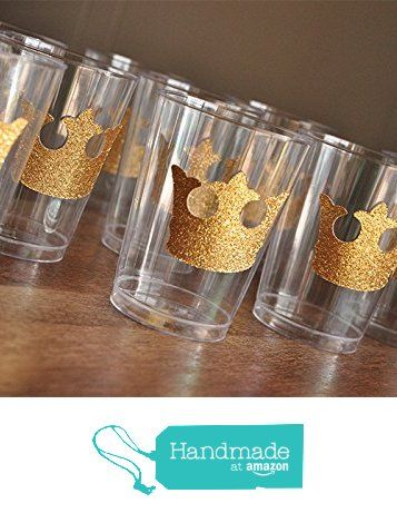 Royal Prince Baby Shower Cups. Set Of 10 Crown Party Cups. From Confetti  Momma