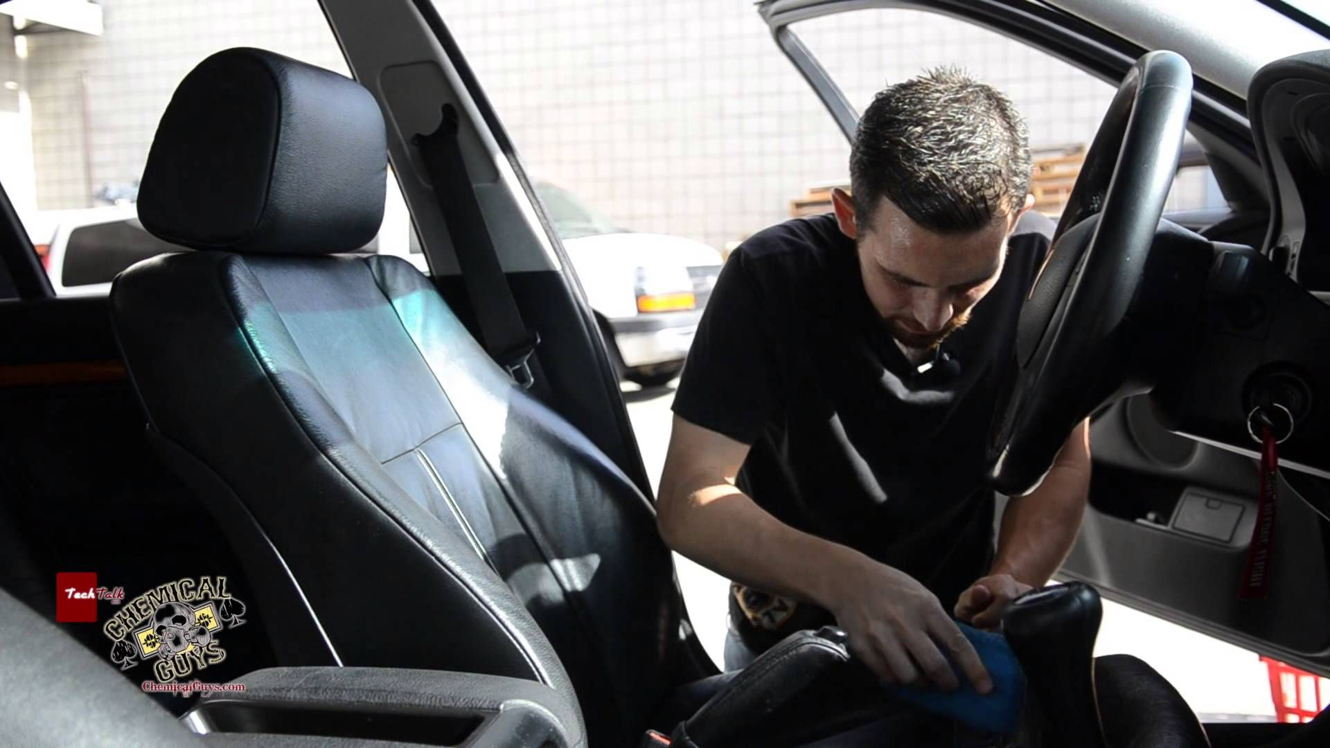How to clean condition leather seats chemical guys
