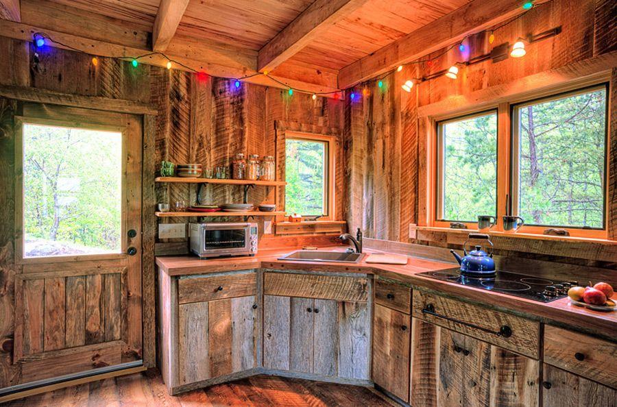 Little bit of Thoreau, a small cabin near Asheville, North Carolina ...