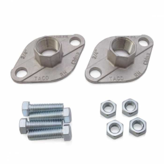 3 4 Npt Stainless Steel Freedom Flanges Pair Stainless Steel Pairs Pumps
