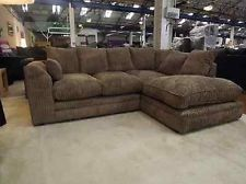 Dylan Corner Sofas Jumbo Cord Fabric Sofa Ebay 249 00