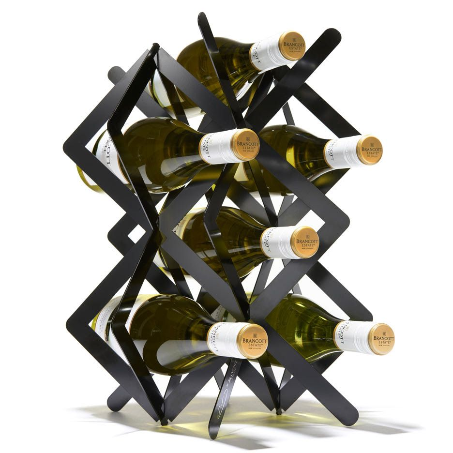 "~Studio Dror's wine rack for Brancott Estate is ""a little piece of sculpture"" ,,,"