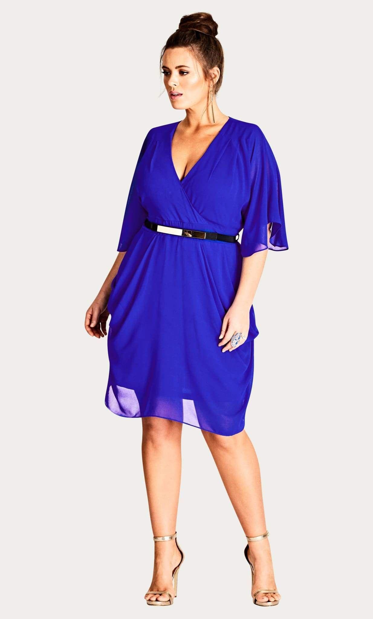 Draped Faux Wrap Dress Cobalt14 Xs In 2021 Plus Size Cocktail Dresses Plus Size Wedding Guest Dresses Wedding Guest Dress Summer [ 2048 x 1234 Pixel ]