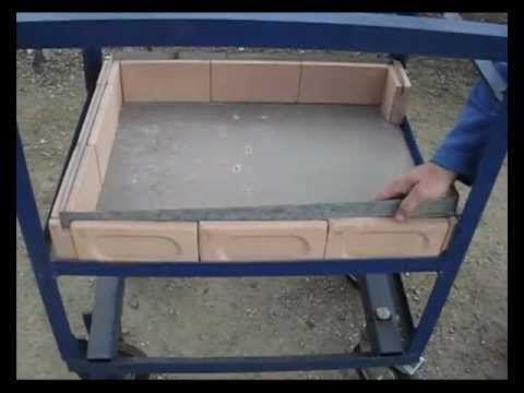C mo hacer un horno de tambor con ladrillos refractarios for Como hacer un horno de lena de hierro